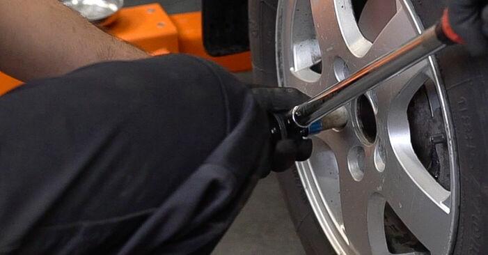 Bremsbeläge am KIA SORENTO I (JC) 2.5 CRDi 2007 wechseln – Laden Sie sich PDF-Handbücher und Videoanleitungen herunter