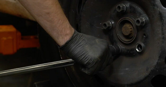 Audi A3 8p1 1.9 TDI 2005 Bremsscheiben wechseln: Gratis Reparaturanleitungen