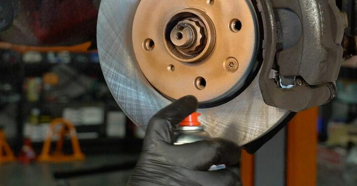 Cómo reemplazar Pastillas De Freno en un PEUGEOT 407 (6D_) 2.0 HDi 135 2005 - manuales paso a paso y guías en video