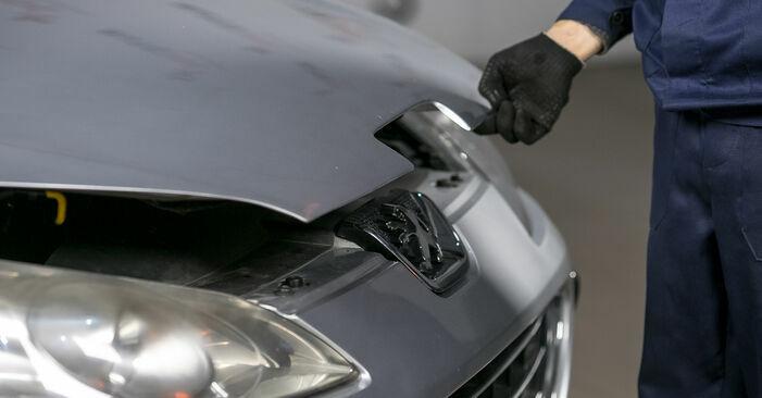 Cómo es de difícil hacerlo usted mismo: reemplazo de Pastillas De Freno en un Peugeot 407 Berlina 2.0 16V 2010 - descargue la guía ilustrada