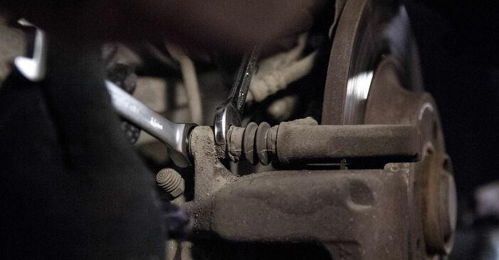 Cómo reemplazar Pastillas De Freno en un PEUGEOT 407 (6D_) 2009: descargue manuales en PDF e instrucciones en video