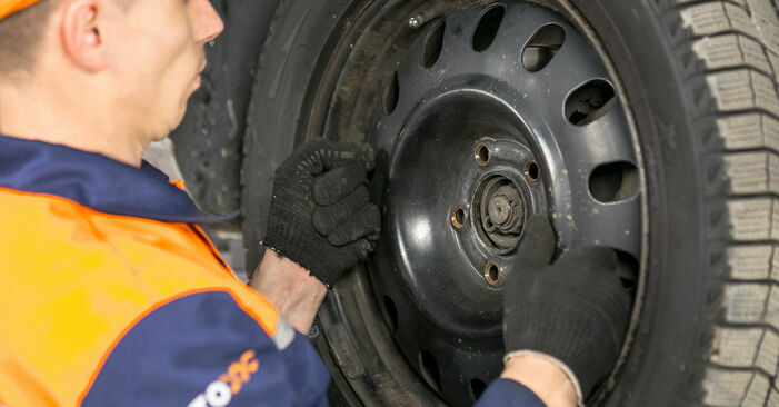 How to remove PEUGEOT 407 2.0 HDi 2008 Brake Pads - online easy-to-follow instructions