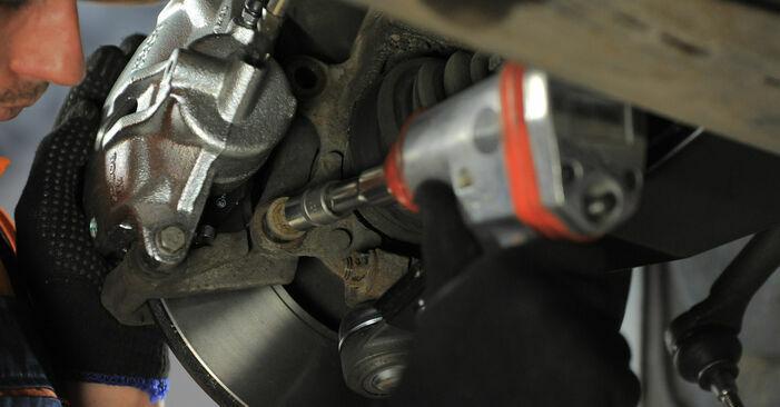 Schritt-für-Schritt-Anleitung zum selbstständigen Wechsel von Ford Mondeo bwy 2005 2.2 TDCi Domlager