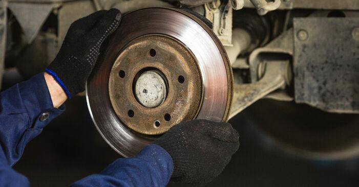 Wie Bremsscheiben Mercedes W168 A 140 1.4 (168.031, 168.131) 1997 tauschen - Kostenlose PDF- und Videoanleitungen