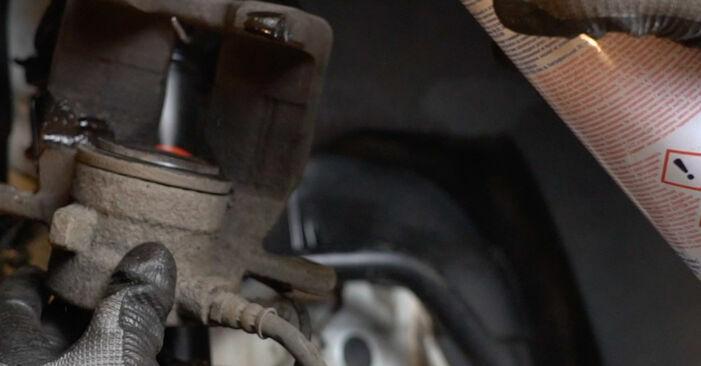 Bremsscheiben Ihres Mercedes W168 A 160 CDI 1.7 (168.007) 1997 selbst Wechsel - Gratis Tutorial