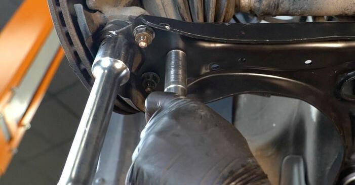 Wie man Querlenker beim VW Polo Limousine (602, 604, 612, 614) 2014 auswechselt – Downloaden Sie sich PDF-Tutorials und Videoanleitungen herunter