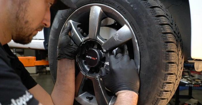 Wechseln Sie Querlenker beim VW Polo 5 Limousine 2019 1.6 TDI selber aus