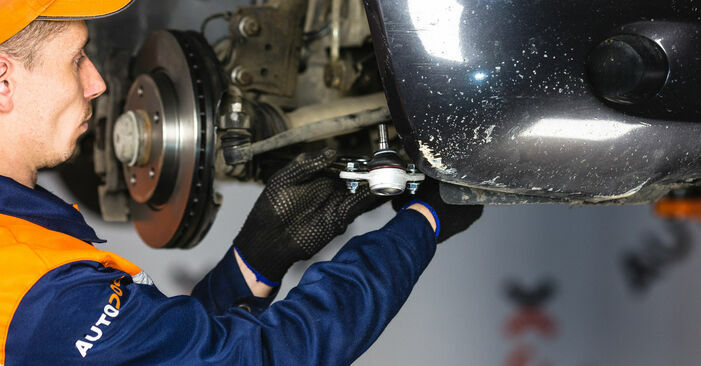 DIY replacement of Control Arm on MERCEDES-BENZ A-Class (W168) A 160 1.6 (168.033, 168.133) 2003 is not an issue anymore with our step-by-step tutorial