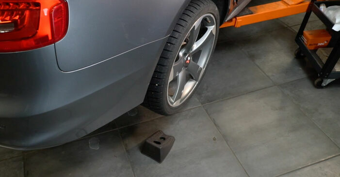 How to remove AUDI A4 S4 3.0 quattro 2011 Brake Pads - online easy-to-follow instructions