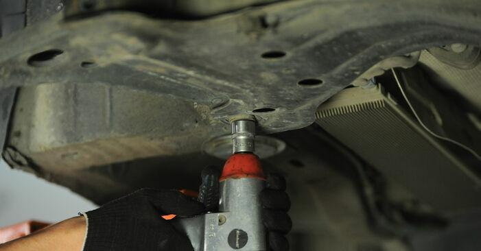 Wie schwer ist es, selbst zu reparieren: Querlenker VW Sharan 1 2.8 V6 24V 2001 Tausch - Downloaden Sie sich illustrierte Anleitungen