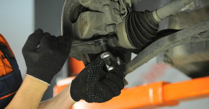 Querlenker beim VW SHARAN 1.9 TDI 2002 selber erneuern - DIY-Manual