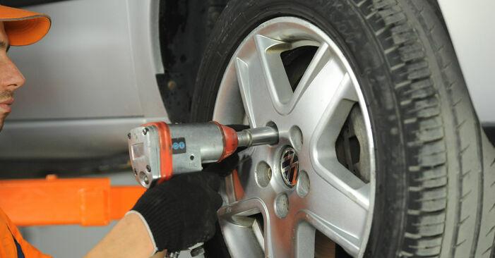 VW SHARAN 1.8 T 20V Querlenker ausbauen: Anweisungen und Video-Tutorials online