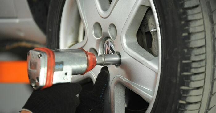 Querlenker VW Sharan 1 1.8 T 20V 1997 wechseln: Kostenlose Reparaturhandbücher