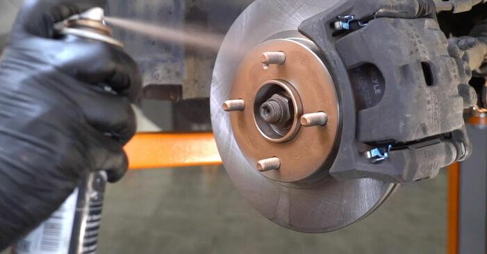 FORD FOCUS 2011 Bremsbeläge Schritt-für-Schritt-Tutorial zum Teilewechsel