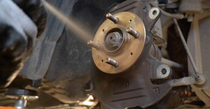 How to change Brake Discs on FORD FOCUS II (DA_) 2004 - free PDF and video manuals