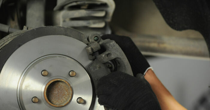 Changing of Brake Discs on FORD FOCUS II (DA_) 2012 won't be an issue if you follow this illustrated step-by-step guide