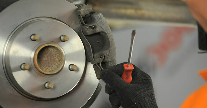 DIY replacement of Brake Discs on FORD Focus II Hatchback (DA_, HCP, DP) 1.6 2009 is not an issue anymore with our step-by-step tutorial