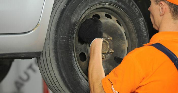 Bremsscheiben FORD FOCUS II (DA_) 1.6 2006 wechseln: Kostenlose Reparaturhandbücher