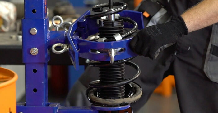 Changing of Springs on Ford Focus mk2 Saloon 2012 won't be an issue if you follow this illustrated step-by-step guide
