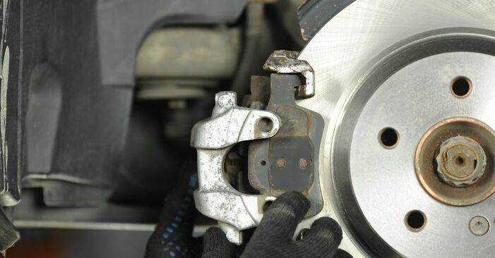 E-Klasse Limousine (W211) E 280 CDI 3.0 (211.020) 2005 E 270 CDI 2.7 (211.016) Bremsscheiben - Handbuch zum Wechsel und der Reparatur eigenständig