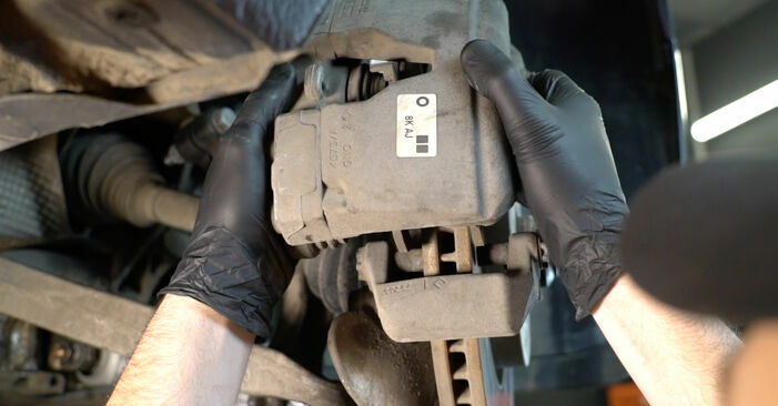 Replacing Brake Pads on Audi A4 B8 Saloon 2008 2.0 TDI by yourself