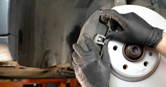 Changing Brake Pads on AUDI A4 Saloon (8K2, B8) 3.0 TDI quattro 2010 by yourself