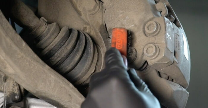 How hard is it to do yourself: Brake Pads replacement on Audi A4 B8 Saloon 1.8 TFSI 2013 - download illustrated guide