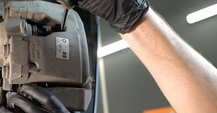 Changing of Brake Pads on Audi A4 B8 Saloon 2015 won't be an issue if you follow this illustrated step-by-step guide
