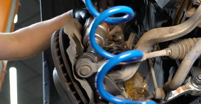 Wie lange braucht der Teilewechsel: Querlenker am BMW E60 2009 - Einlässliche PDF-Wegleitung