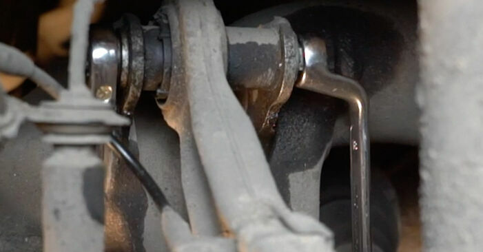 Ersetzen Sie Querlenker am BMW E60 2001 530d 3.0 selbst