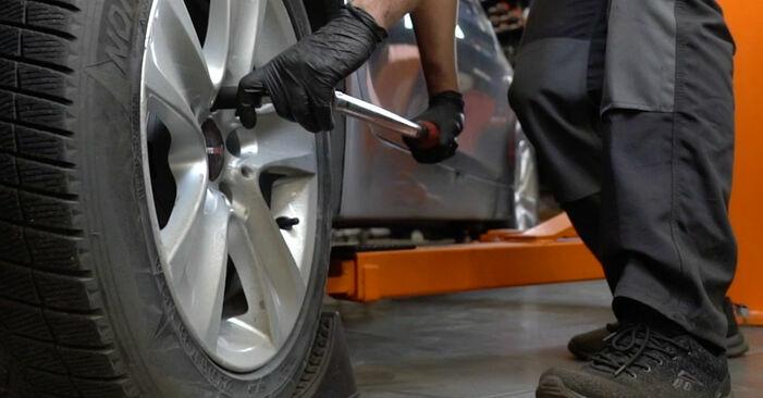 Wie man BMW 5 SERIES 525d 3.0 2005 Querlenker wechselt – Leicht verständliche Wegleitungen online