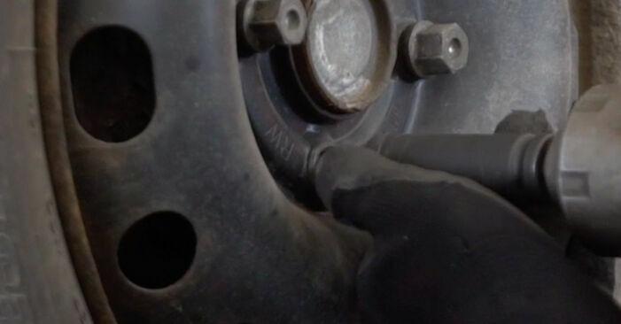 Wechseln Bremsbacken am OPEL Corsa B Schrägheck (S93) 1.2 i (X 12 SZ, C 12 NZ) 1996 selber