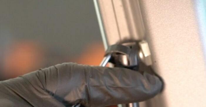 Come rimuovere FIAT GRANDE PUNTO 1.4 T-Jet 2012 Pistoni Portellone - istruzioni online facili da seguire