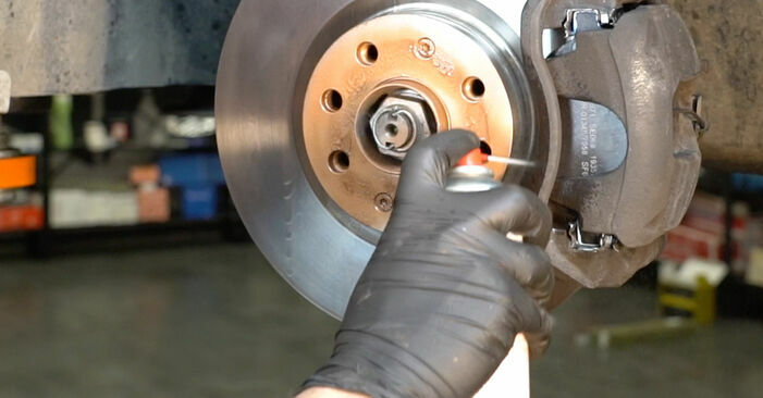 How to change Brake Discs on Fiat Punto 199 2008 - free PDF and video manuals