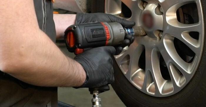 GRANDE PUNTO (199) 1.4 T-Jet 2019 Springs DIY replacement workshop manual