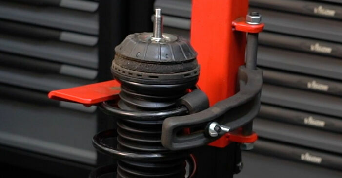 How hard is it to do yourself: Springs replacement on Fiat Punto 199 1.4 Natural Power 2014 - download illustrated guide