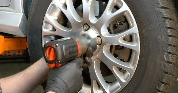 Changing of Springs on Fiat Punto 199 2016 won't be an issue if you follow this illustrated step-by-step guide