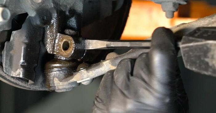 GRANDE PUNTO (199) 1.4 T-Jet 2019 Control Arm DIY replacement workshop manual