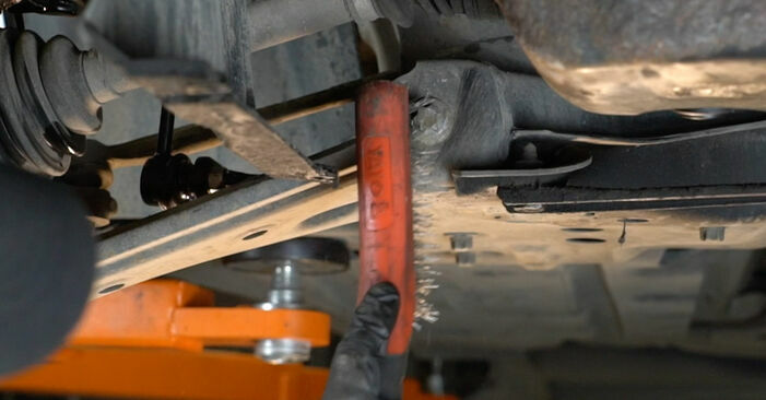 How to replace Control Arm on FIAT GRANDE PUNTO (199) 2013: download PDF manuals and video instructions