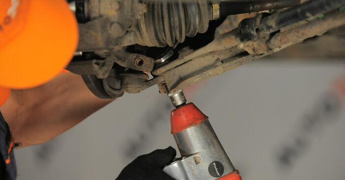 OPEL CORSA 2000 Шарнири стъпка по стъпка наръчник за смяна