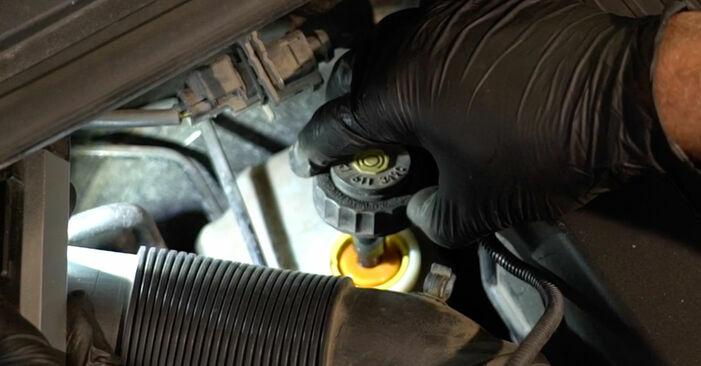 Wie schwer ist es, selbst zu reparieren: Bremsscheiben Octavia 1z5 1.6 2010 Tausch - Downloaden Sie sich illustrierte Anleitungen