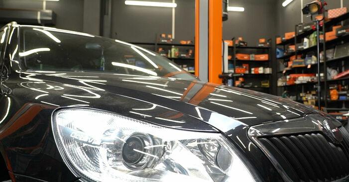 Bremsscheiben beim SKODA OCTAVIA 2.0 TDI 2011 selber erneuern - DIY-Manual