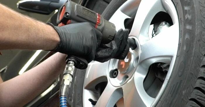 Jak dlouho trvá výměna: Brzdové Destičky na autě Octavia 1z5 2012 - informační PDF návod