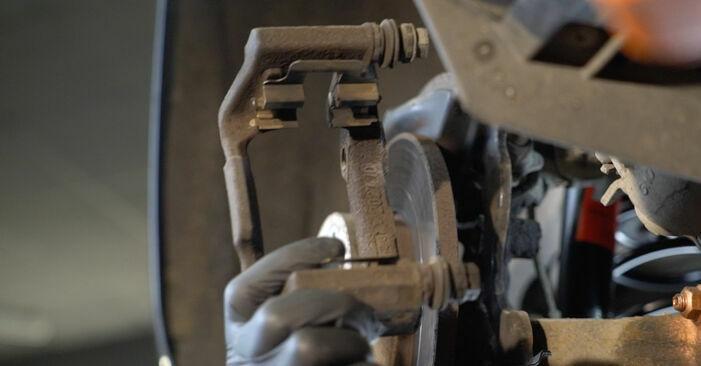 Wie man Radlager am SKODA Octavia II Combi (1Z5) 2006 ersetzt - Hinweise und Ratschläge