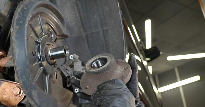 Wie man SKODA OCTAVIA 2.0 TDI 4x4 2008 Radlager austauscht - Eingängige Anweisungen online