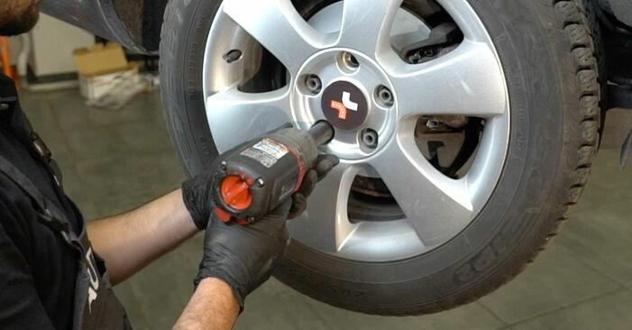Wie problematisch ist es, selber zu reparieren: Radlager beim Octavia 1z5 1.6 2010 auswechseln – Downloaden Sie sich bebilderte Tutorials