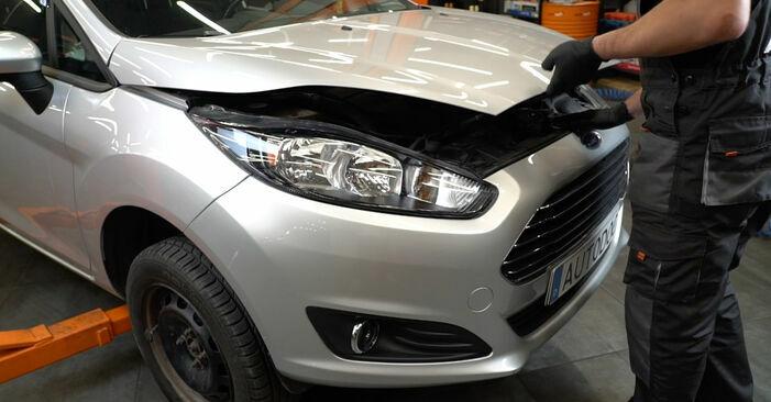 Wie Bremsbeläge Ford Fiesta ja8 1.25 2008 tauschen - Kostenlose PDF- und Videoanleitungen