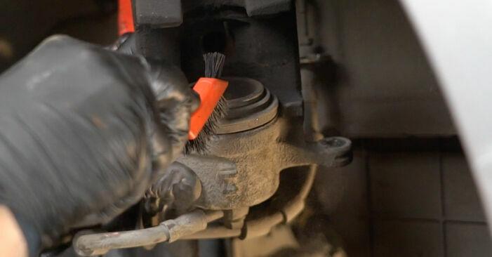 Fiesta Mk6 Schrägheck (JA8, JR8) 1.4 LPG 2019 1.4 TDCi Bremsbeläge - Handbuch zum Wechsel und der Reparatur eigenständig