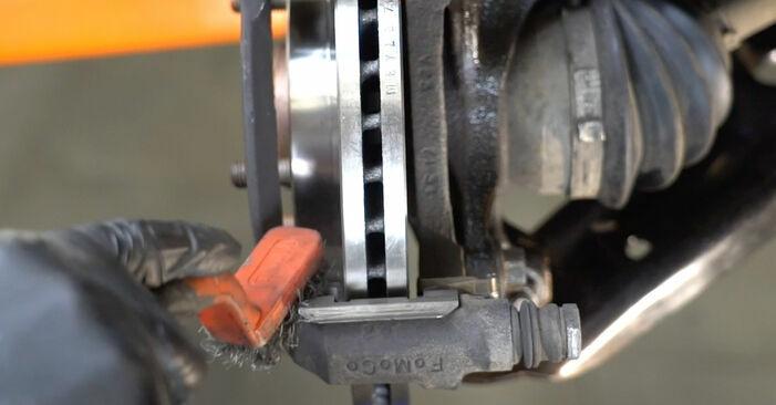 Schritt-für-Schritt-Anleitung zum selbstständigen Wechsel von Ford Fiesta ja8 2008 1.4 LPG Bremsbeläge
