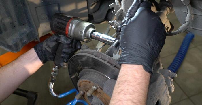Ford Fiesta ja8 1.4 TDCi 2010 Springs replacement: free workshop manuals